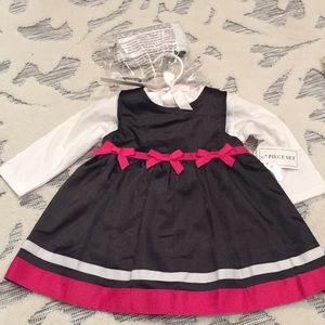 🆕 black and pink dress (nursery rhyme) NWT
